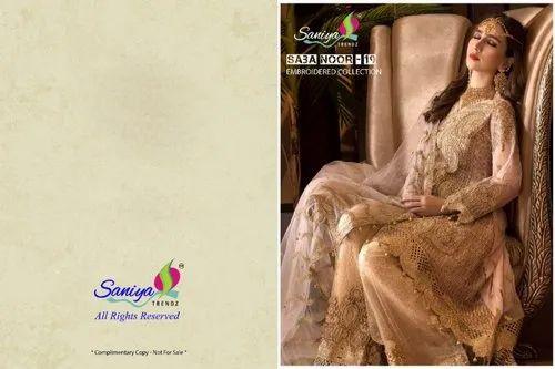 28914f1d3b 4 Color Georgette LADIES DESIGNER SUIT, Rs 1250 /piece, Vastradeal ...