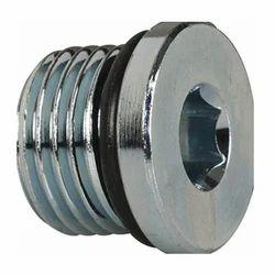 Allen Key Plug, Grub Plug, Brass, MS, S.S