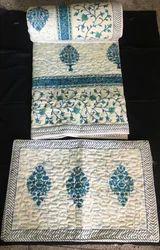 Handblock Printed AC Comforters Set