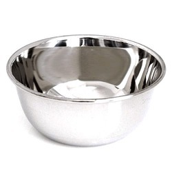 Bajajbutterfly Silver Stainless Steel Serving Bowl