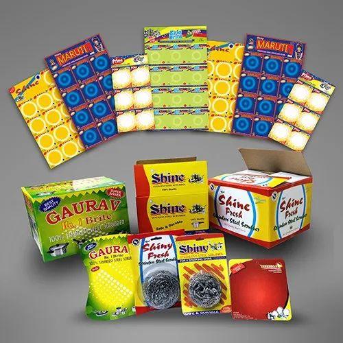 Scrubber Blister Packaging