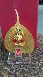 Leaves Ganesh Statue