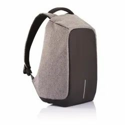 XD Design 13 Ltr Black Anti Theft Backpack with Rain Cover Grey