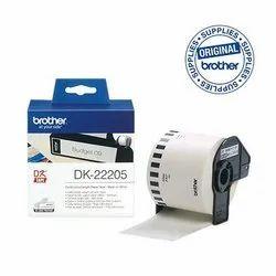 DK-22205 White Paper Tape