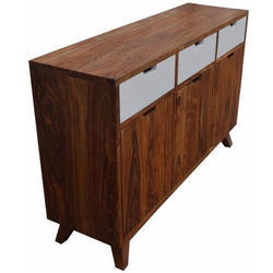 Solid Mango Wood Sideboard