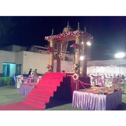 Decorative Indian Wedding revolving stage