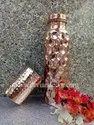 Diamond Copper Water Bottle