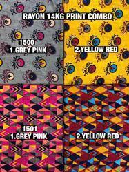 14kg Rayon Print Fabric