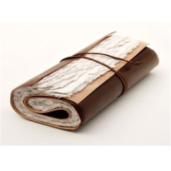 Leather Scroll Journal
