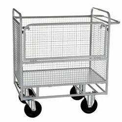 Wire Net Tray Trolley