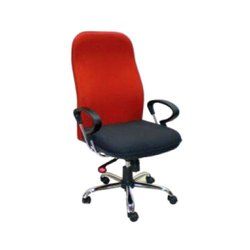 High Back Foam Red Black Executive Chair
