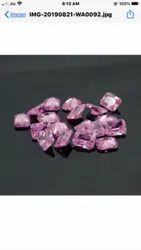 American Diamond Pink Octogen