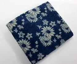 Dabu Block Printed Cotton Fabric In Jaipur