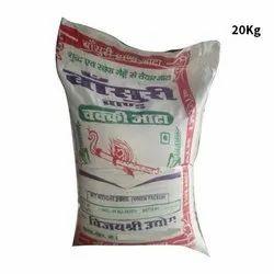 Indian Wheat 20 Kg Basuri Chakki Atta, 1 Months, Packaging Type: Pp Bag