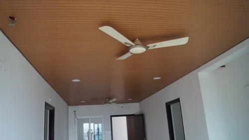 PVC False Ceiling at Rs 125/square feet   Polyvinyl ...