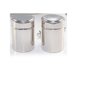 Metal Exports Square Salt & Pepper Shaker, Size: 7 X 9 Cm