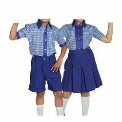 VSL Summer Kids Cotton School Uniform