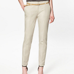 Cotton Regular Fit Ladies Formal Pant, 28.0