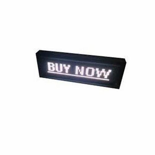 Rectangle LED Sign Board