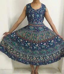 Bagru Cotton Dress