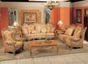 Atique Wooden Sofa Set