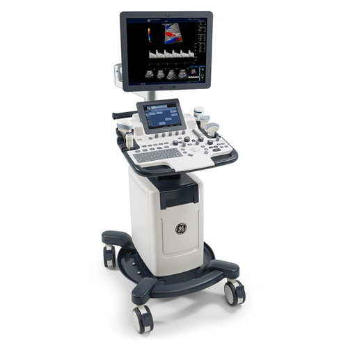 GE Ultrasound Machine, Pulse Wave, Micro Array(MHz)