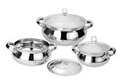 Stainless Steel Casserole, for Hotel