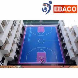 Ebaco Basketball Court Construction, in India