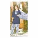 Stitched Cotton Patiyala Suit