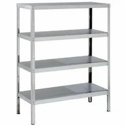 Steel Rack / Ms Rack / Steel Shelves / 4 Layer Shelf Storage