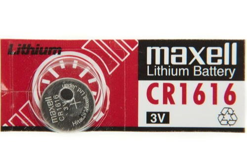 Maxell CR 1616 Lithium Coin Cell Battery