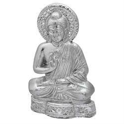Budha Silver Statue