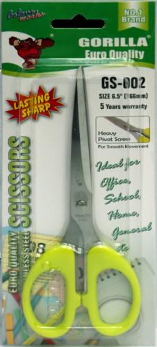 Scissors 6.5 Inch GORILLA/KENT