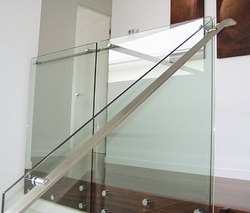 Toughened Glass Handrail