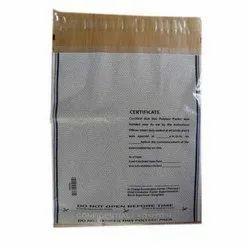 Single Sided Transparent Plastic Envelope