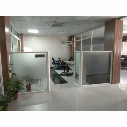 UPVC Glass Partition, for Office
