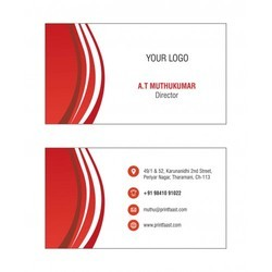 Corporate Visiting Card Printing Services