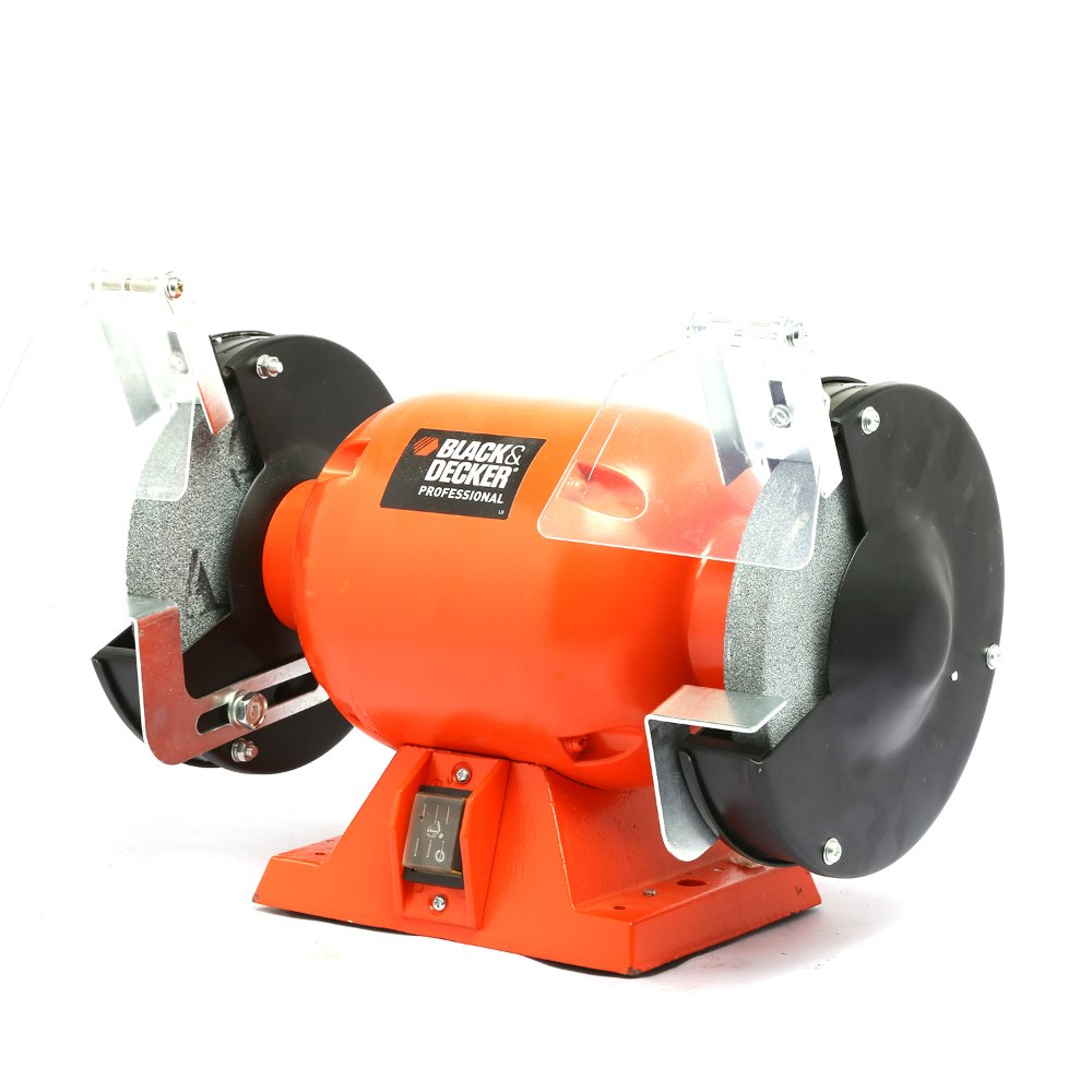 Black Amp Decker Bpgb3150 Bench Grinder 1 2 Hp 6 Inch 150mm