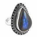 925 Silver Labradorite Ring