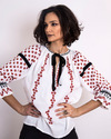 Romanian top blouse