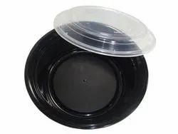 RO32 Black Plastic Container