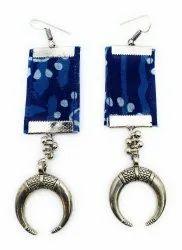 FE005 Handmade Fabric Earrings