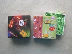 Paper Printed Gift Packaging Box, Box Capacity: 100 - 400 gm