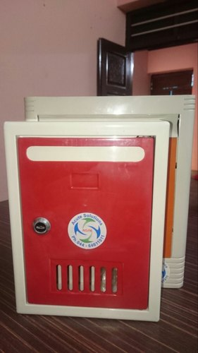 ABS Letter Box Red
