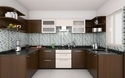 U Shaped Modular Kitchen Design