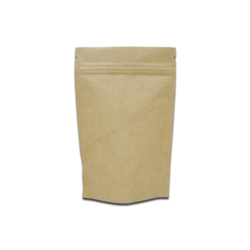 Paper pouch manufacturers suppliers wholesalers kraft paper standup zipper pouch 5x8 malvernweather Choice Image
