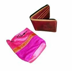 Trifold Wine Red Gents Wallet, Card Slots: 6, Bill Pocket Or Coin Pocket