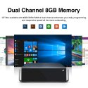 GT Box Windows 10 Home Office Game Mini PC,8GB DDR3 256GB SSD, 2.5 Inch HDD,1TB SSD with 2.4GHz/5GHz