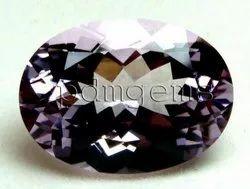 Pink Amethyst Oval Gemstone