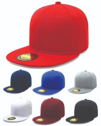 Red Cotton Hip Hop Caps